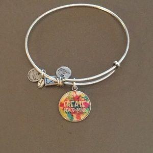 Alex and Ani  Create Peace of Mind bracelet